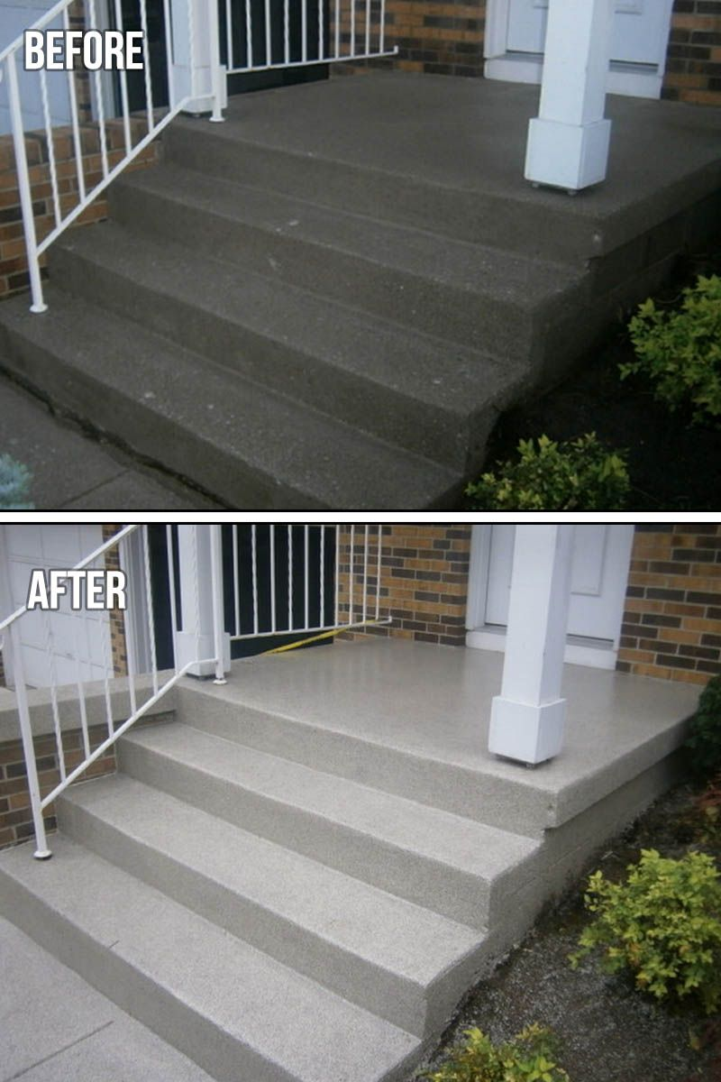 Pin On Before And After Concrete Projects