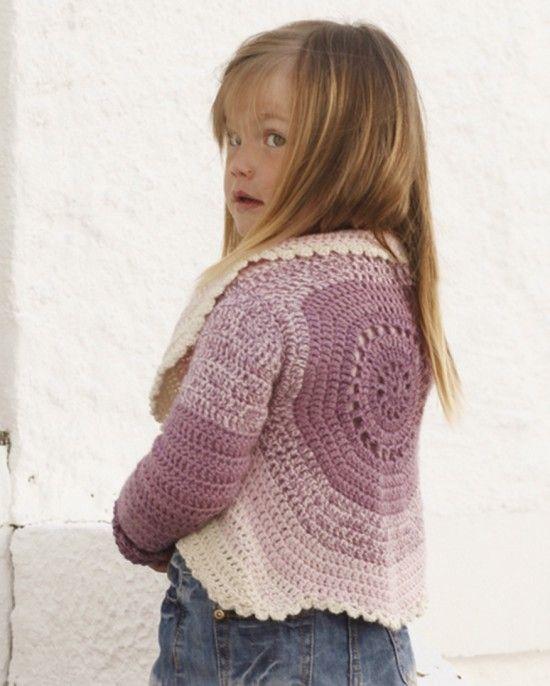 DIY Crochet Cardigan Sweater Free Patterns | Babykleidung ...