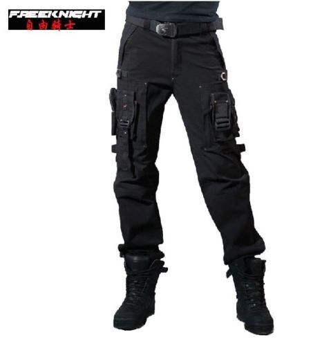 Free Knight Cargo Military Pants Goth Punk Casual Army Outdoor Surplus  Tactical  FreeKnight  Cargo 75f3f589893b4