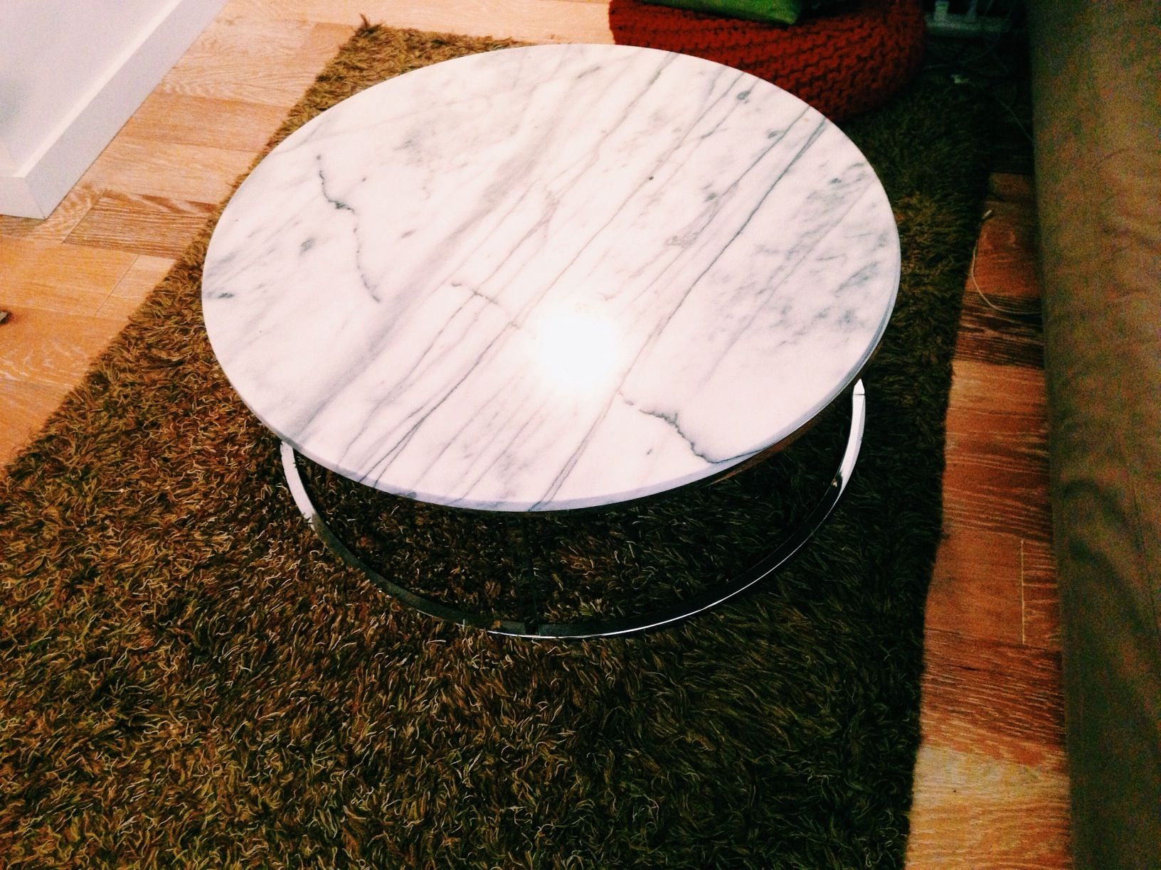 Cb Smart Round Marble Top Coffee Table Httpwwwcbcomsmart - Cb2 smart round coffee table