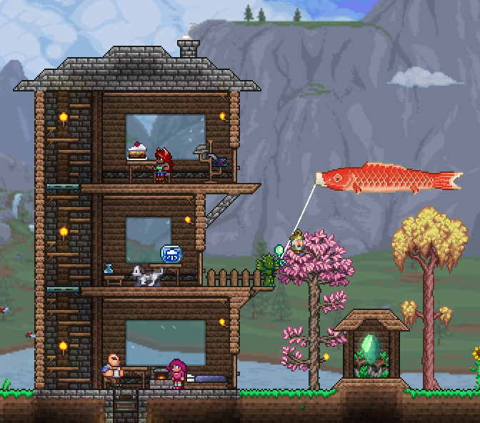 Rate my house! I'm not the best builder; any tips