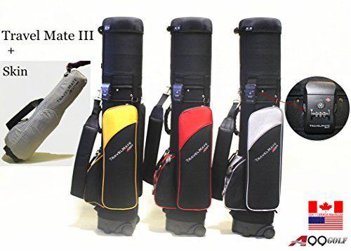 A99 Golf Travel Mate Iii Carryon Cover Hard Case Hybrid Bag With Tsa Lock