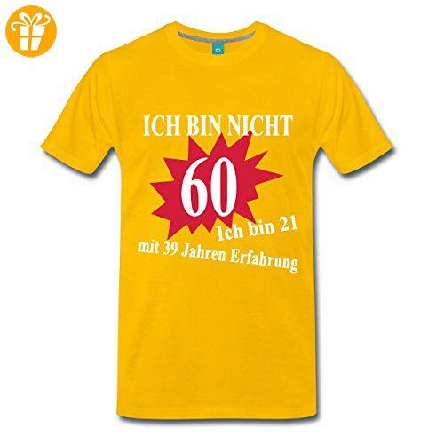60 Geburtstag Manner Premium T Shirt Von Spreadshirt Xl