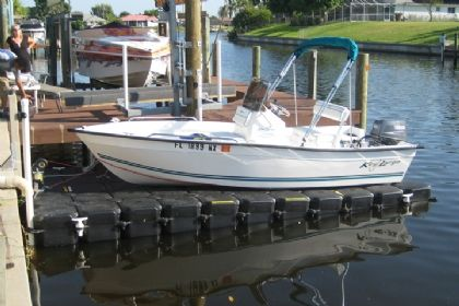 16 Boat Lift Floating Boat Lift With Drive On Ramp Design Floating Boat Ramp Design Boat