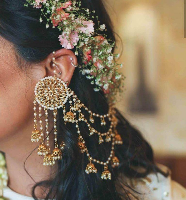 BridalTrendAlert: The 80's Bahubali Earrings Are Back! (With ...