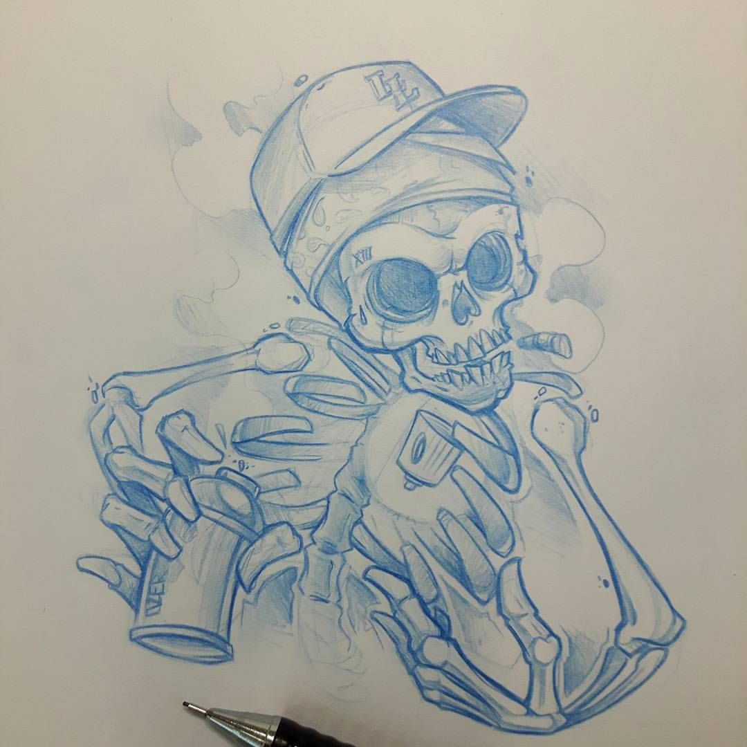 Color art nantes - Graffitiskull Ozer Tatouage Tattoo Graffiti Loveletters Ironink Nantes