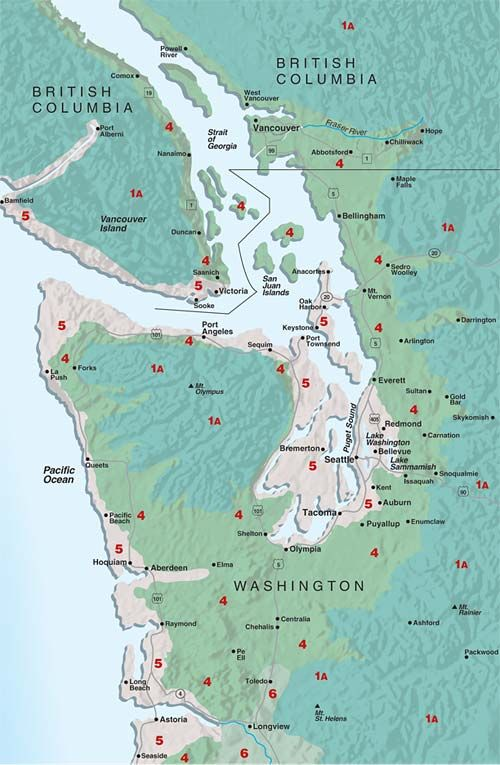 Sunset Climate Zones Western Washington With Images Western