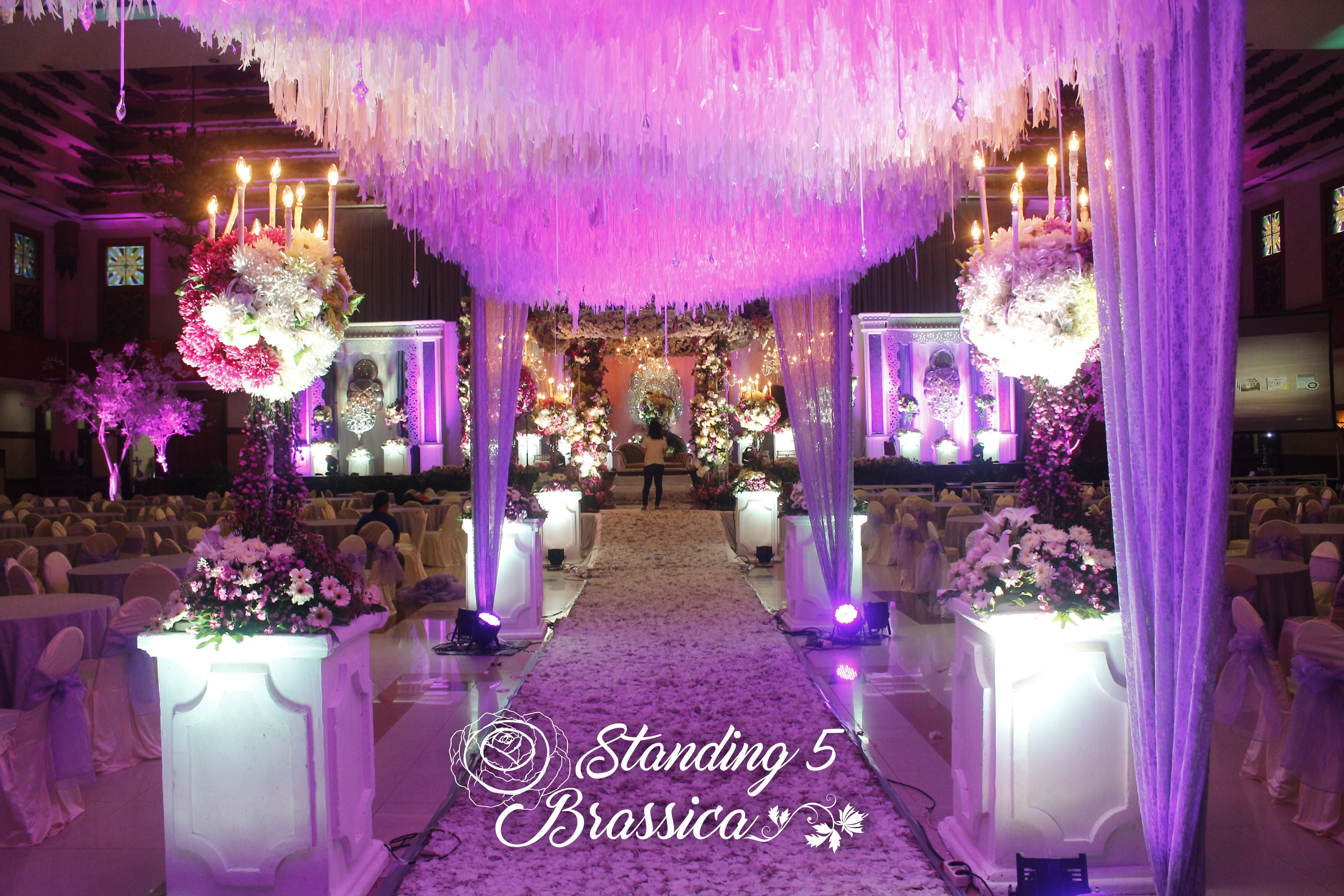 Wedding decoration ideas purple  Wedding packages in  by edendecoration one package and