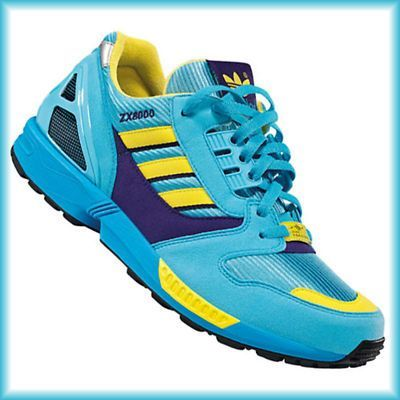 new concept ab856 a3823 Adidas ZX 8000 DAS ORIGINAL Equipment Torsion Gr.46 2/3 ...