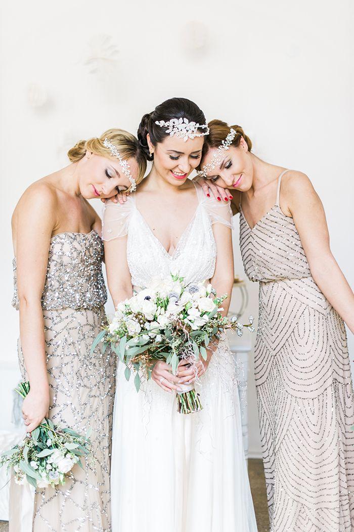 Ideen für eine glamouröse Winterhochzeit | Brautjungfernkleider ...