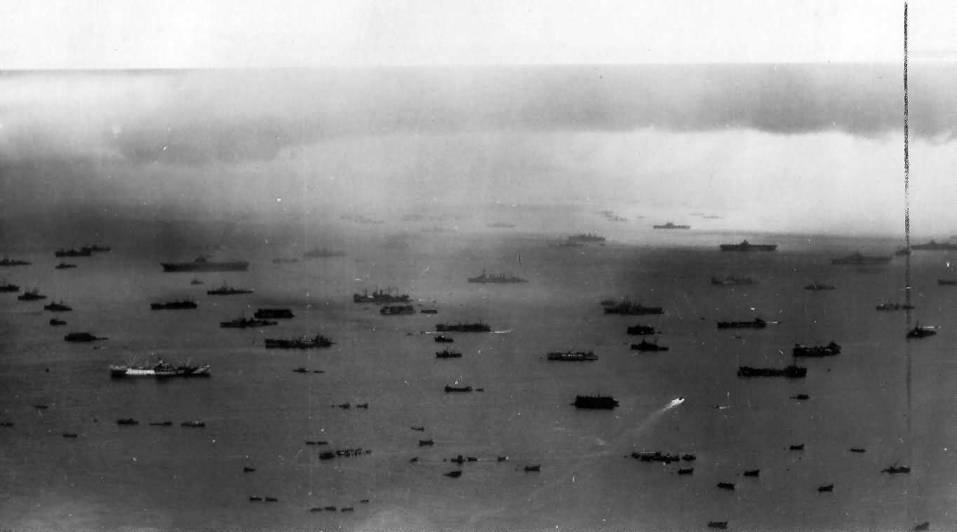 Image result for fleet at iwo jima