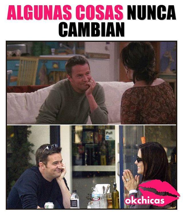Nunca Friends Chandler Monica Memes Divertidos Memes Graciosos Imagenes Graciosas
