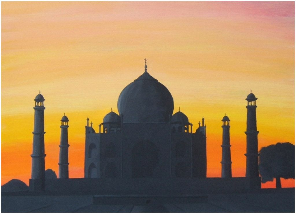 Taj Mahal at Sunset by *lilmisscoolio | Travel Lust | Pinterest ...