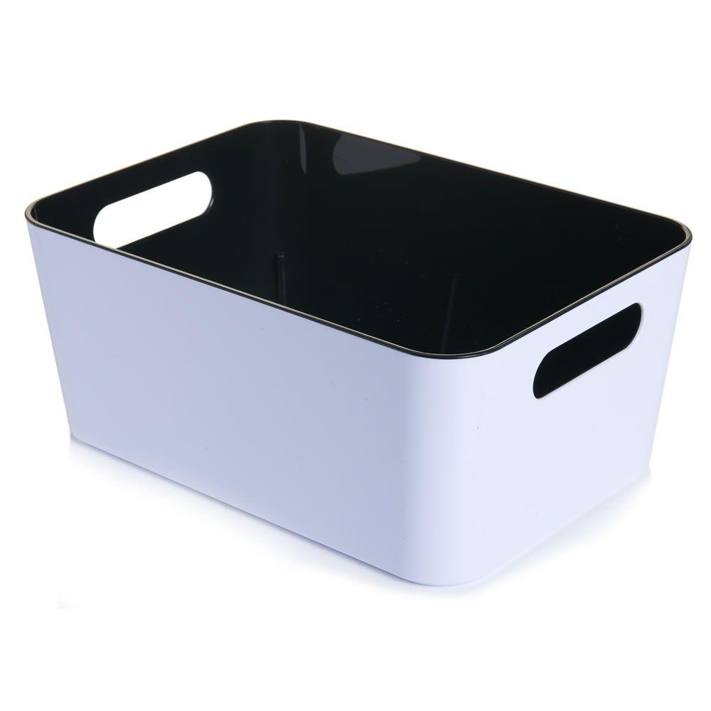 Plastic Caddy Black | Bathroom essentials, Bathroom storage and Storage
