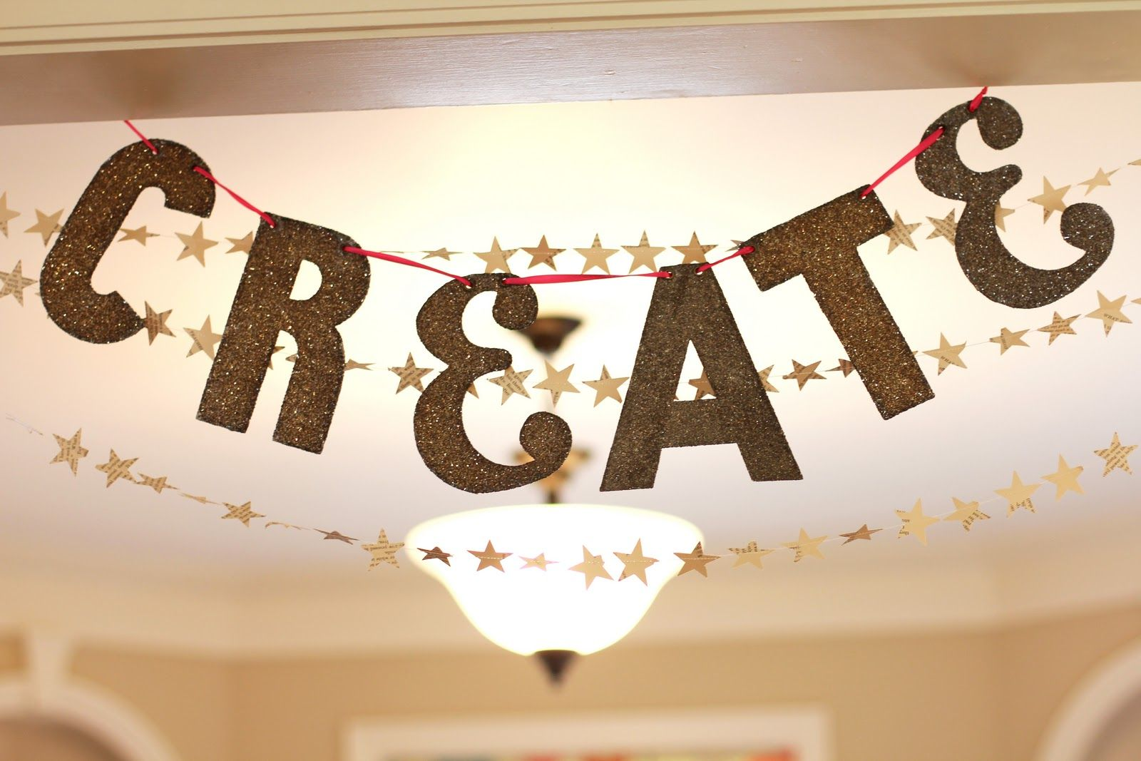 word + star banner | oh my little dears: Give Crafty