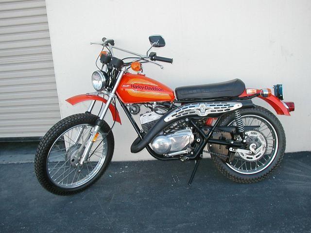Harley Sx250 Amf Harley Bike Art Harley Davidson