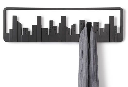 Remarkable Retractable Coat Hook To Organize Your Closet: Perfect Retractable Coat Hook Using Black Color Design With Undulating Hooks Style ~ steffsays.com ...