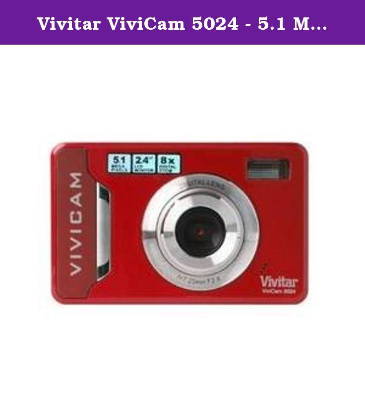 vivitar vivicam 5024 5 1 mega pixel 4x digital zoom color red rh pinterest co uk  vivicam 5024 manual en español