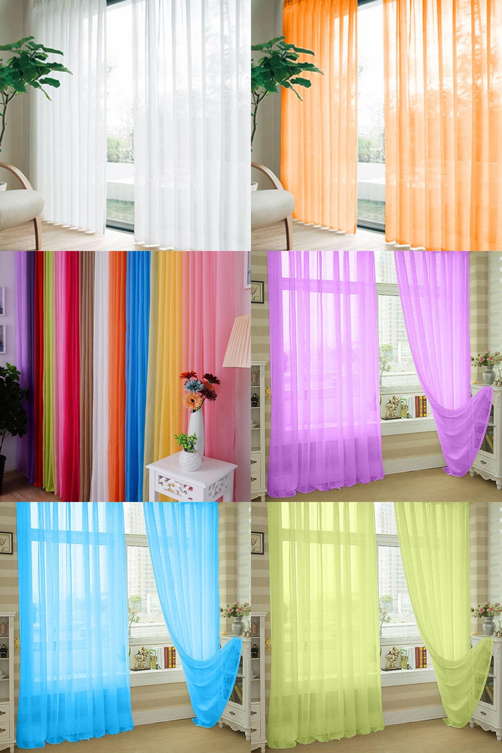 Visit To Buy 1pcs Cortinas Window Curtain For Living Room Voile Curtains Floral Tulle