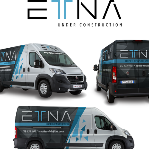 Create A Creative Van Wrap For A Modern Architecture And