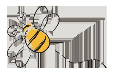 Bee Logo3 Bee Drawing Bee Sticker Bee Images