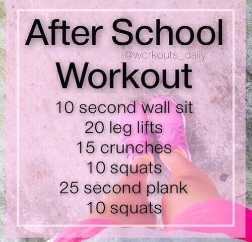 After School Workout��