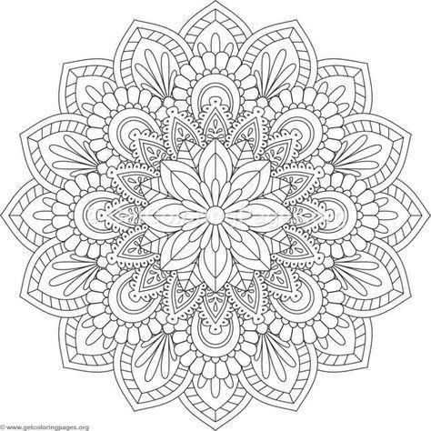 coloring in 2020 mit bildern   mandala ausmalen, mandala kunst, malvorlagen