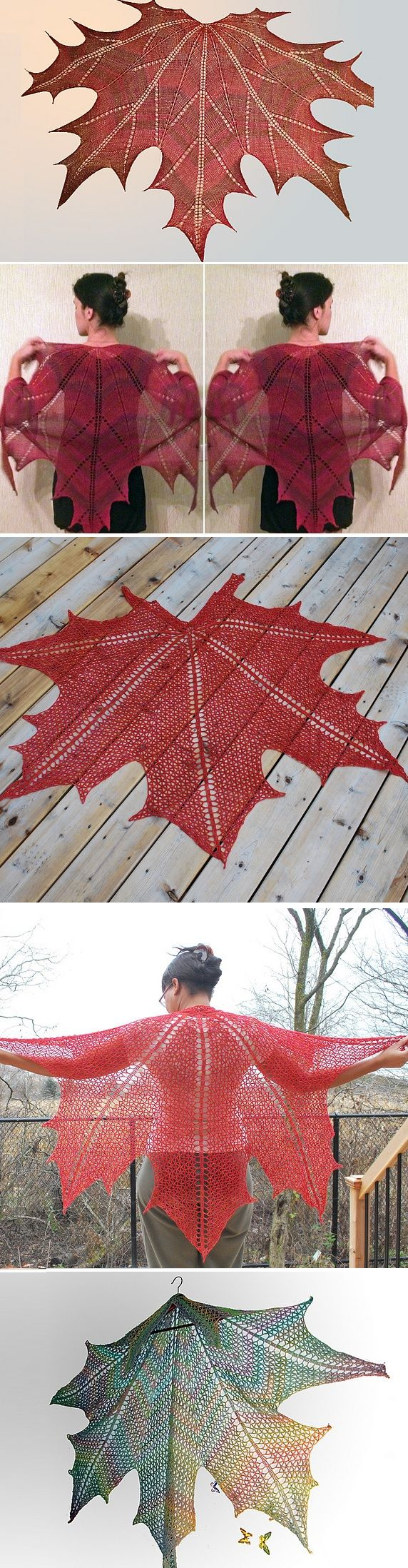 Make Maple Leaf Shawl | Pinterest