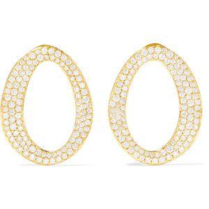 Ippolita Cherish 18-karat Gold Diamond Earrings RchRwDX