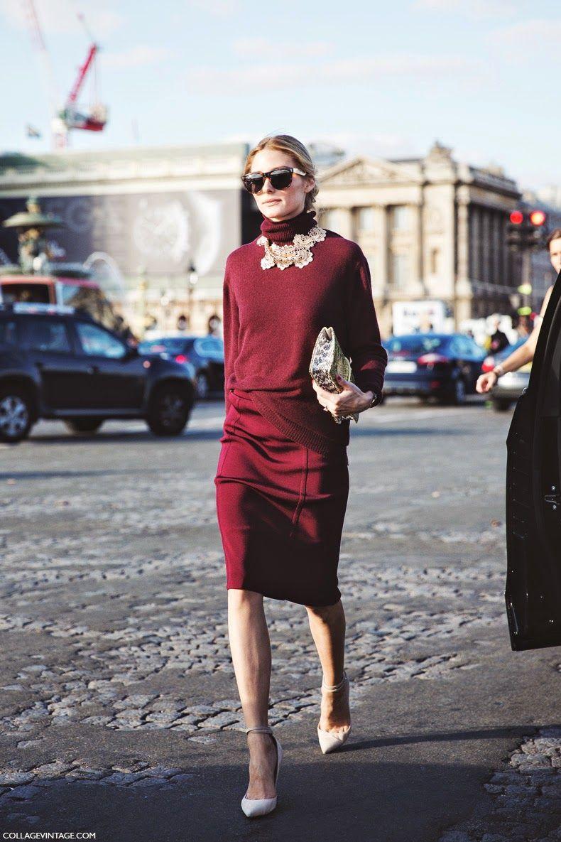 The Olivia Palermo Lookbook : Olivia Palermo at Paris Fashion Week : Look 1