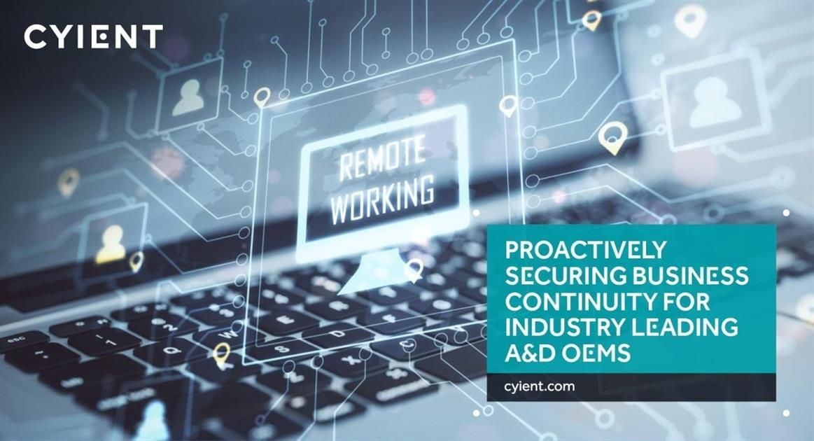 Cyient in 2020 Business continuity planning, Business