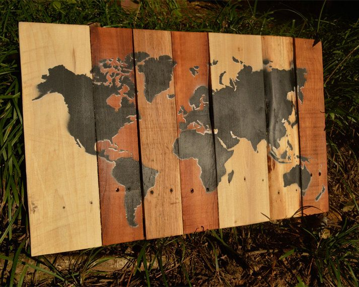 World map pallets graffiti spray paint street art stencil world map pallets graffiti spray paint street art stencil door sprayworld gumiabroncs Choice Image