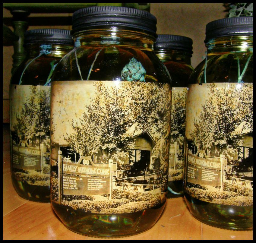 Mason Jar Party Decorations: We Used This As A Centerpiece At A Co-workers Retirement