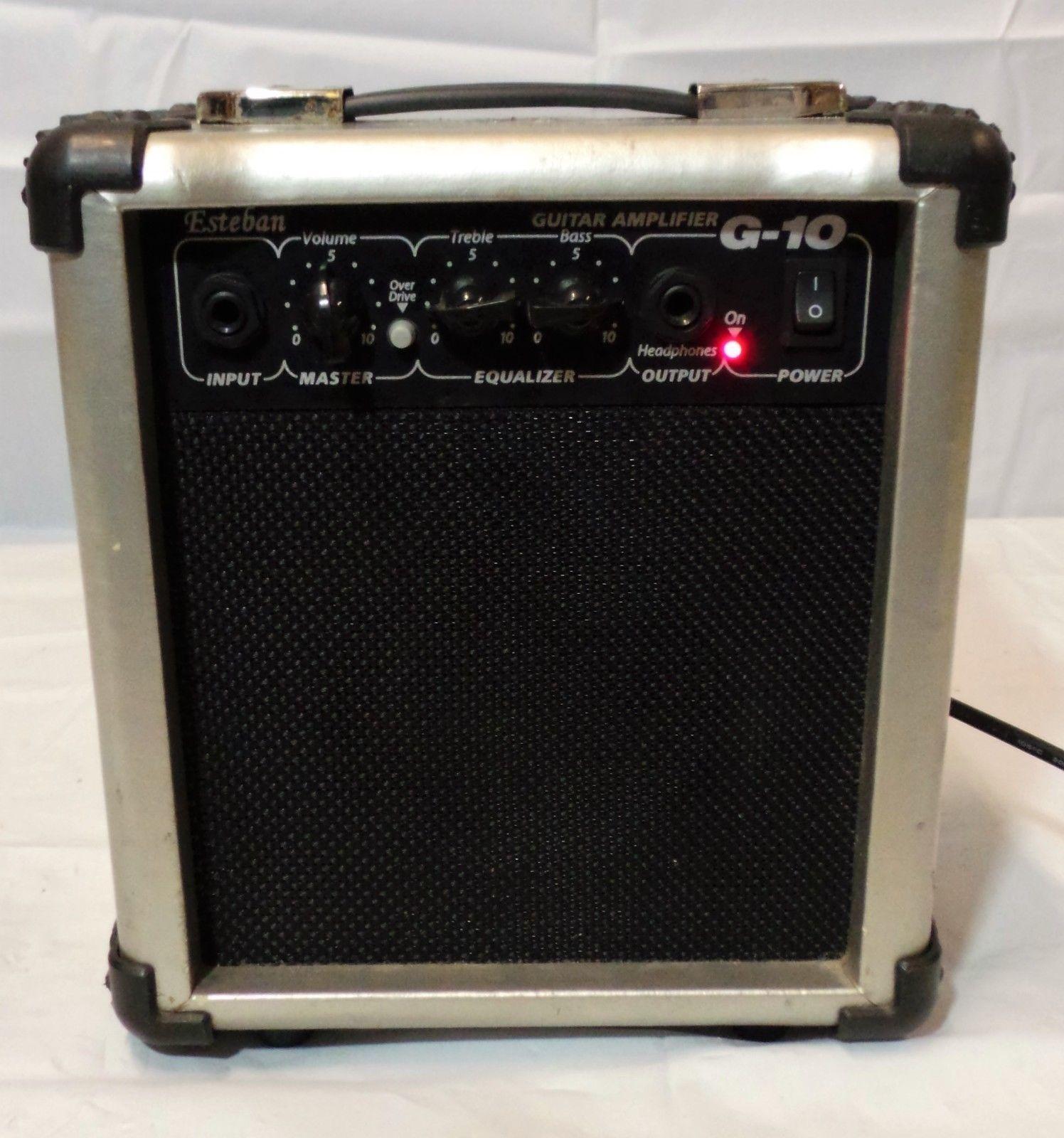 esteban g10 12 watt guitar amp amplifier electric acoustic music portable mobile please retweet [ 1496 x 1600 Pixel ]