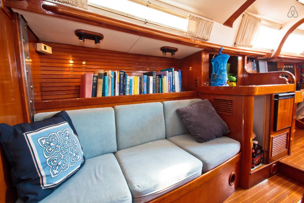 Check out this awesome listing on airbnb sailing yacht