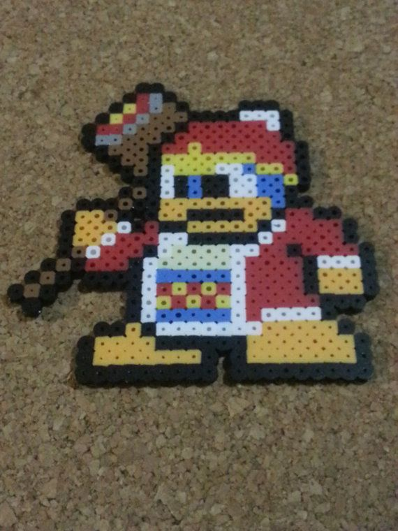 King Dedede Bead Sprite  Kirby  Super Smash by DCBPerlerSprites