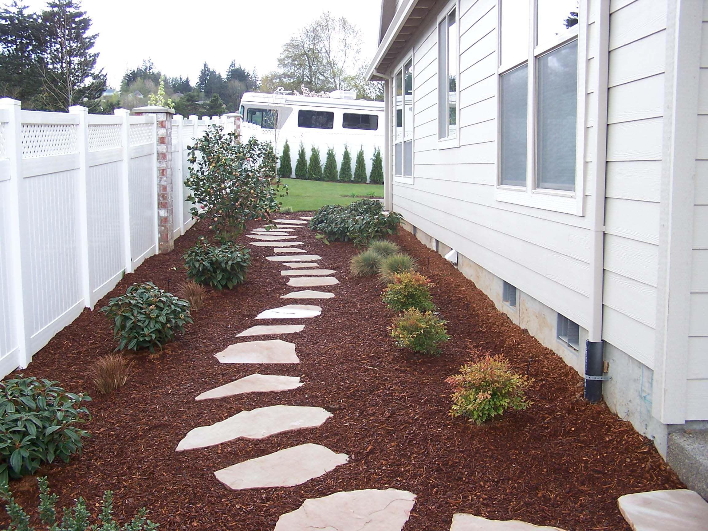 sideyard idea kensington. prefer