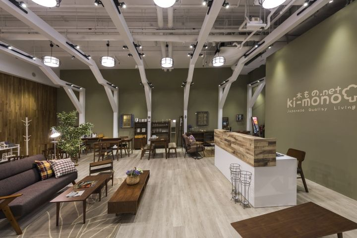 Ki mono net store by iretail interior design company at one km mall