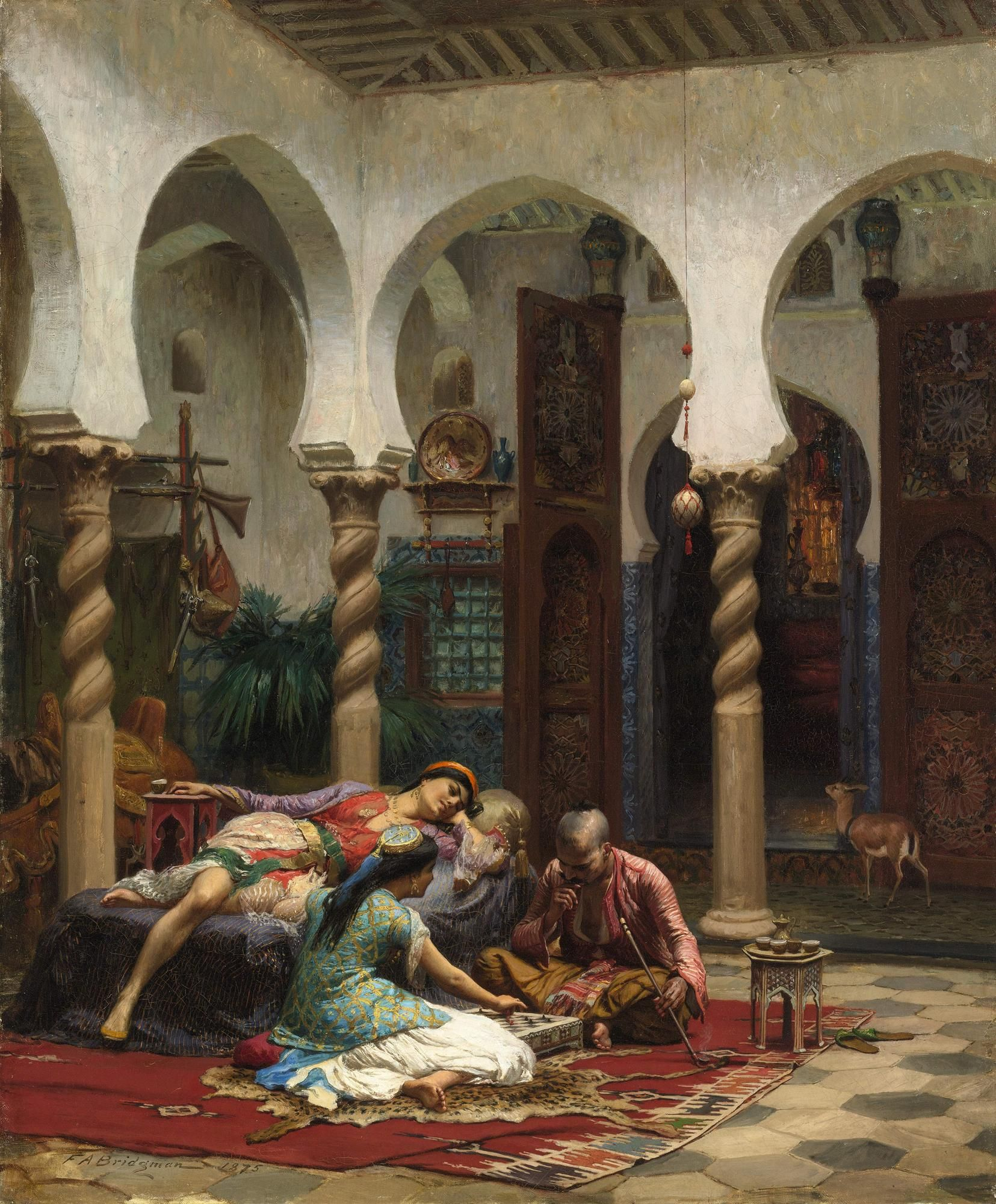 585e2587c7a frederick arthur bridgman paintings - Google Search