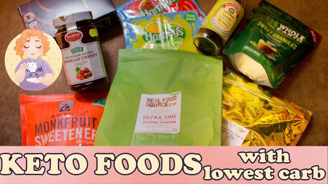Keto Foods Essential Low Carb Food Shopping list for UK