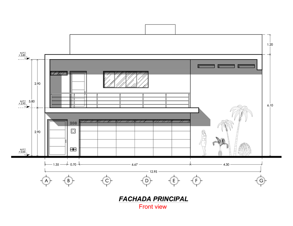 Simple and modern house full plan example architecture admirers simple and modern house full plan example architecture admirers ccuart Images