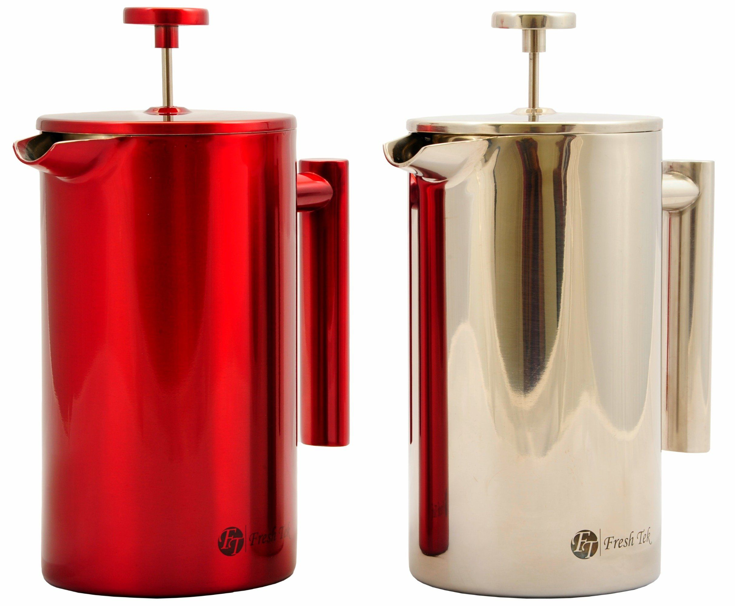 Best french press stainless steel coffee maker double wall
