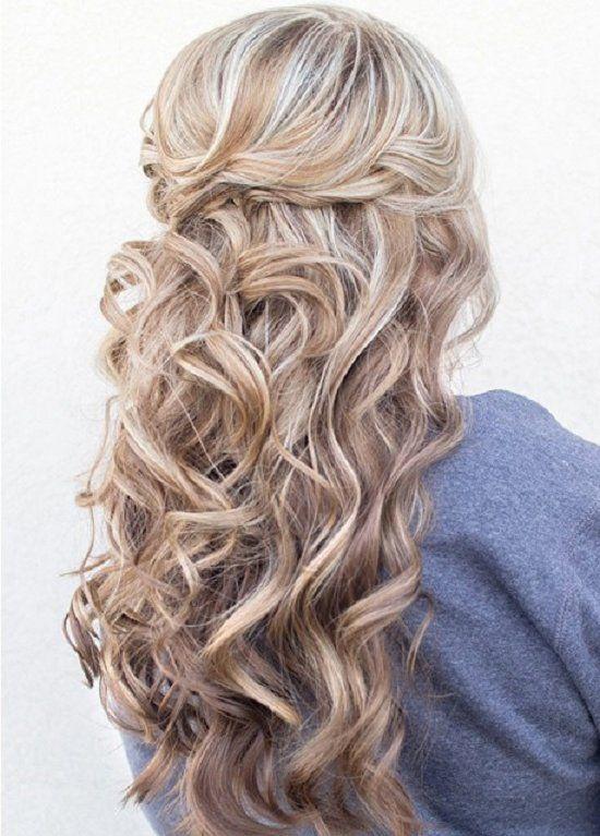 20 hermosos peinados para cabello largo long hairstyle - Peinados de fiesta cabello largo ...