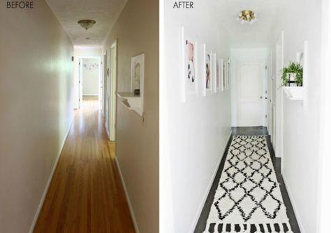 Tal y como os contaba en este post de como decorar un pasillo
