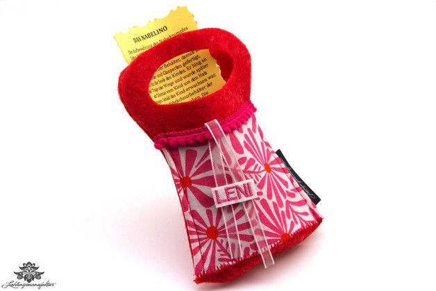 Geschenk zur Geburt - das Nabelino zur Aufbewahrung der (abgefallenen) Nabelschnur - eine Idee der #Lieblingsmanufaktur