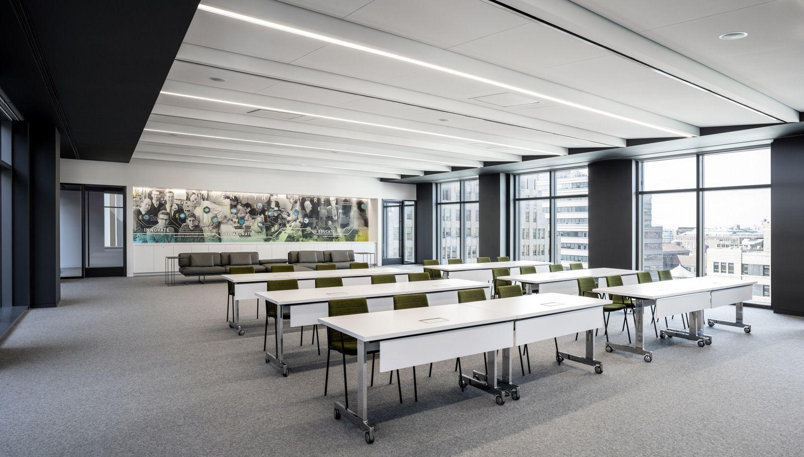 Training Room Design Ideas Part - 34: Training Room | Biotronik Offices U2013 New York City