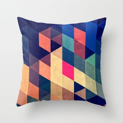 wyy Throw Pillow by Spires - $20.00