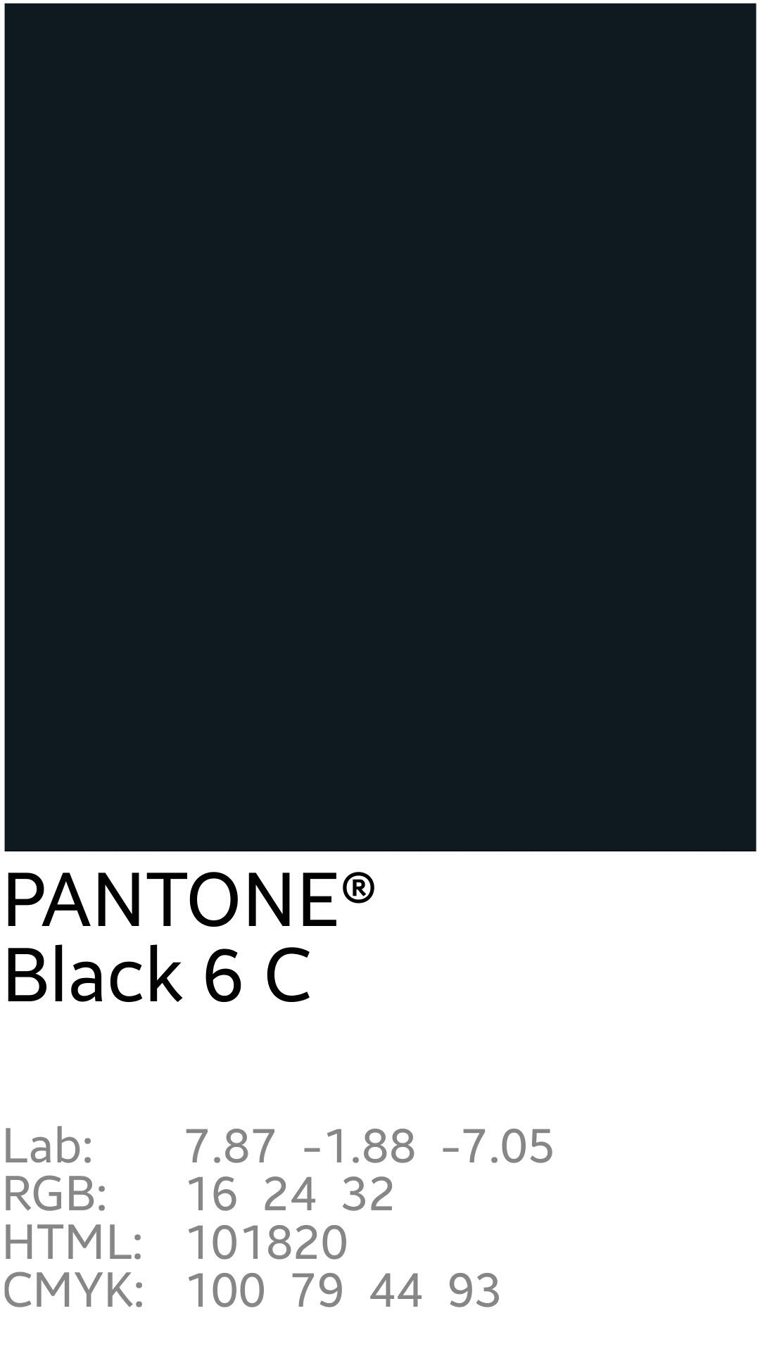 Image Result For Pantone Black  Pantone Color Boards