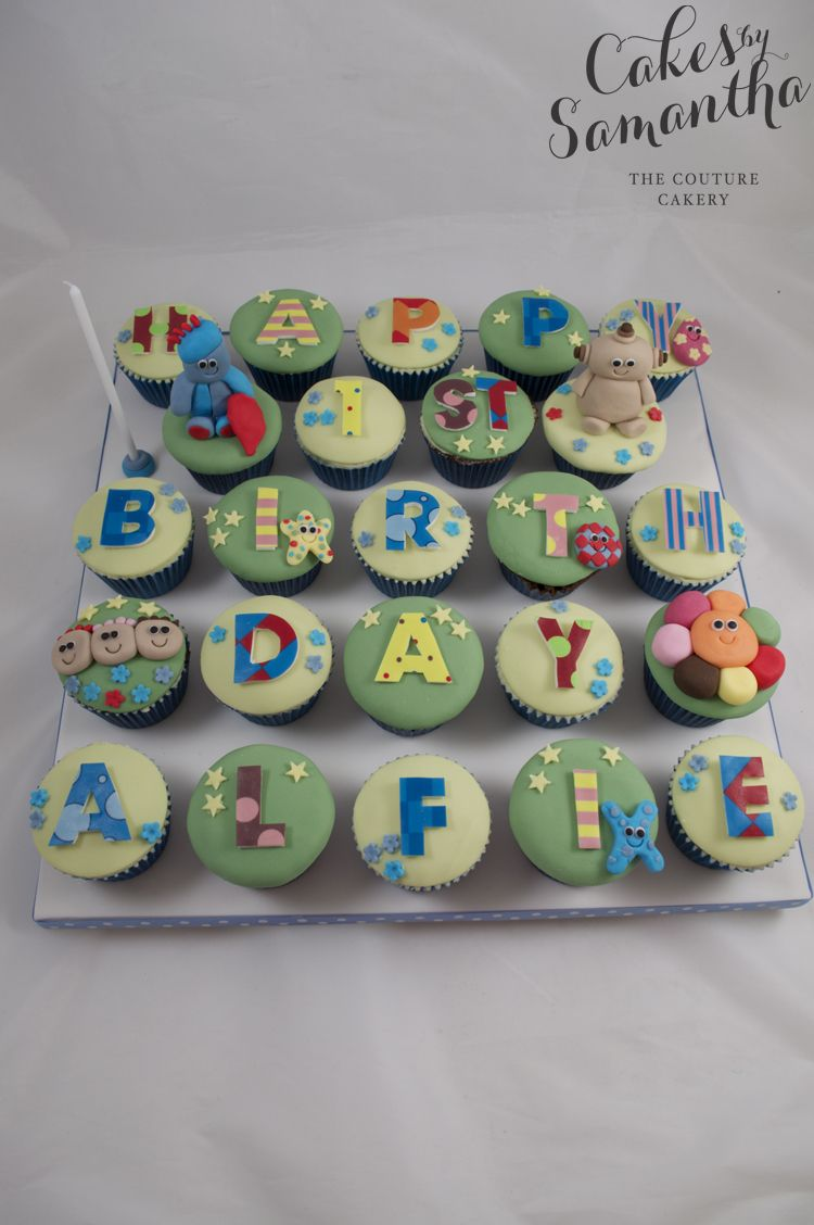 Alfie\'s In the Night Garden Cupcakes. | Unique cakes 4every occasion ...