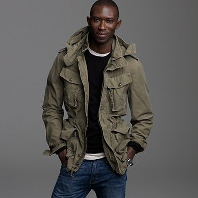 Parka-style outerwear. Maybe an update to the Safari Jacket.